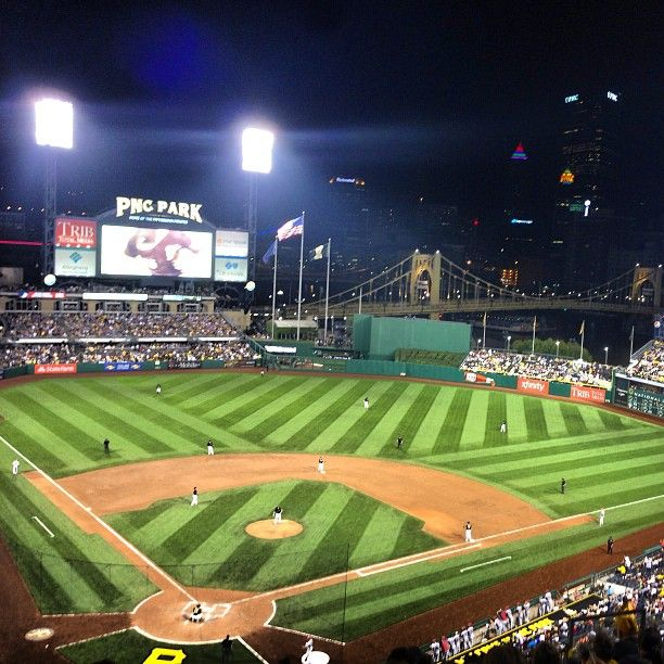 PNC Park In Pittsburgh PA Is Home To The Pirates And On Our List