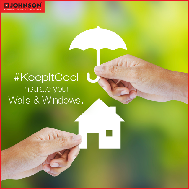KeepItCool Summer heat can be kept out of the house by