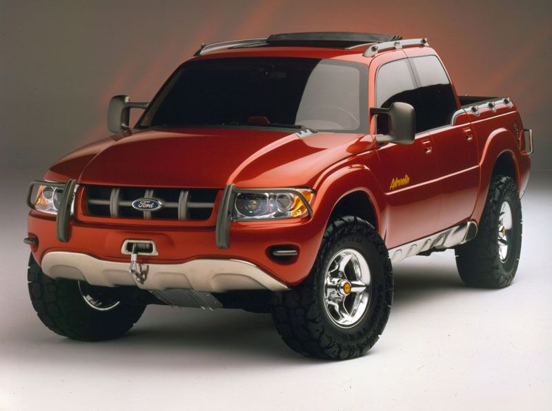Concept Trucks We Wish Were Built Ford explorer sport