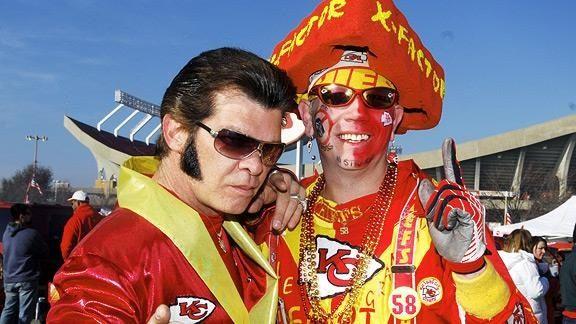 Elvis is a chiefs fan!