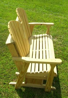 Adirondack Glider Bench Plans Wood Projects Woodworking Bench