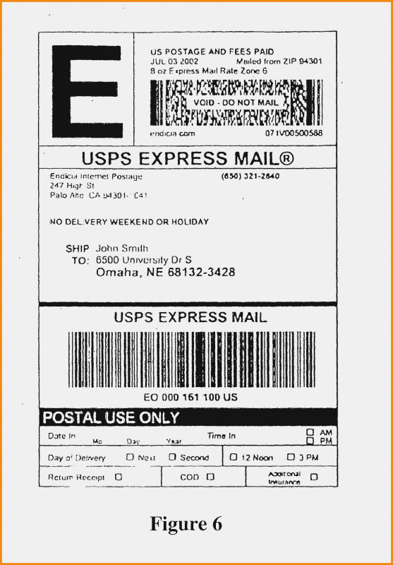 Usps Shipping Label Template New 043 Purchase Order Template