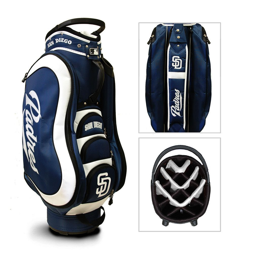 San Diego Padres MLB Cart Bag - 14 way Medalist