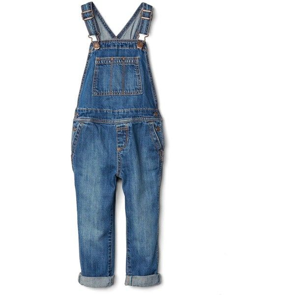 49817f3be868 1969 denim overalls ( 50) ❤ liked on Polyvore featuring jumpsuits ...