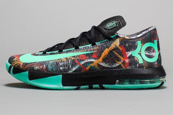 finest selection f7136 99dfd All Kevin Durant Shoes   side view of Kevin Durant s 2014 All-Star Game  sneakers. (Nike)
