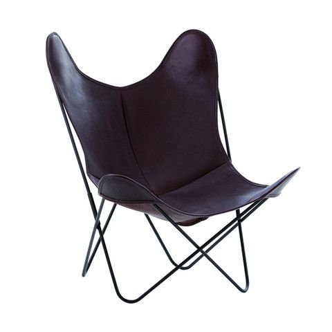 DAS_OBJEKT — BUTTERFLY CHAIR LEDER | Industrie Stuhl | Pinterest ...