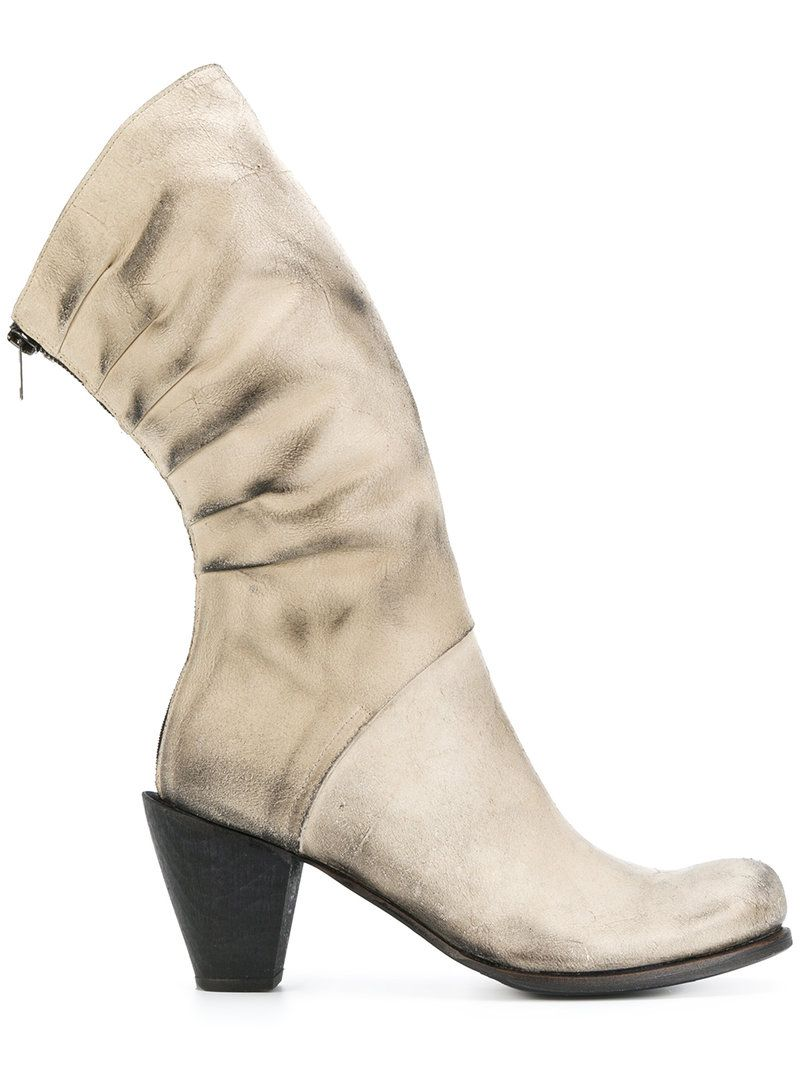 LOST & FOUND RIA DUNN Pleated back boots Online Shopping Buy Cheap Big Sale Genuine Very Cheap For Sale 2ALQs