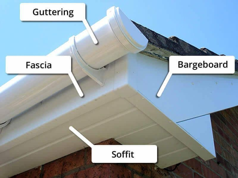 Gutter Replacement Guide How To Fix Rotted Fascia Board Costs And Repair Tips Roofingguide Roofrepairtips Fascia Board Roof Repair Diy Gutters