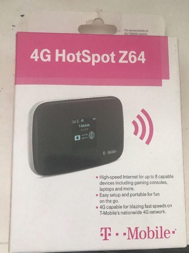 T-Mobile Z64 4G HOTSPOT New HIGH SPEED INTERNET