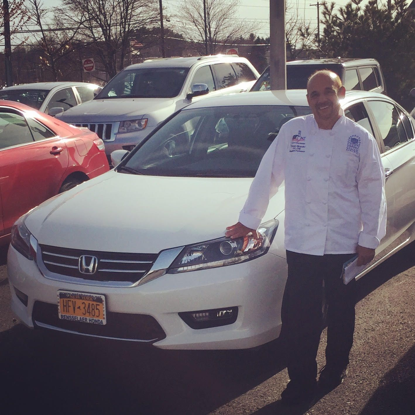 Congratulations to Tom on the new Accord! Cameron was delighted to find the perfect car for you!