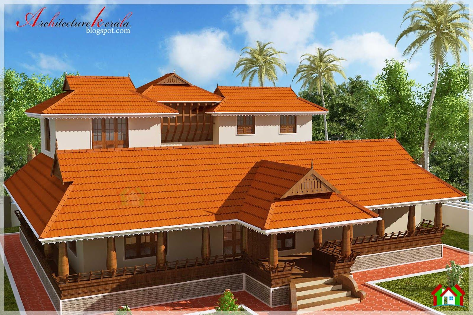 Architecture Kerala NALUKETTU STYLE KERALA HOUSE ELEVATION Jo