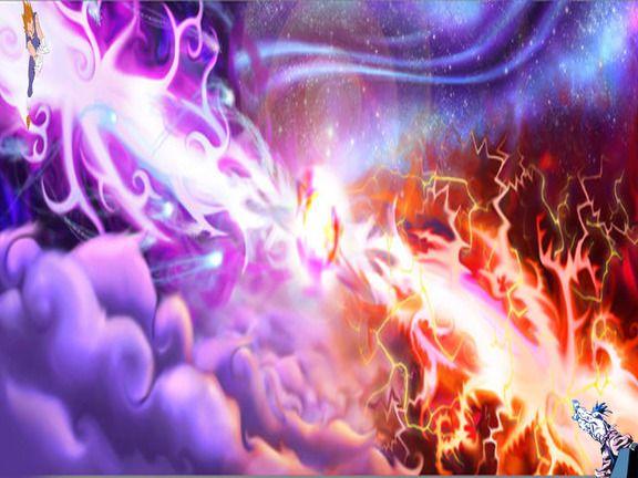 Kamehameha vs spirit bomb kamehameha vs gallickgun dragonball wallpaper dragon ball z - Goku kamehameha live wallpaper ...