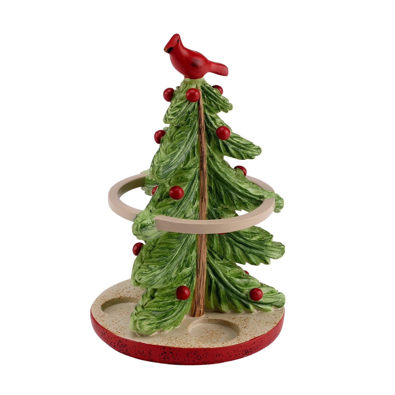 Avanti Christmas Tree Toothbrush Holder Christmas Avanti Tree Holder Christmas Tree Design Toothbrush Holder Blue Embroidered Towels