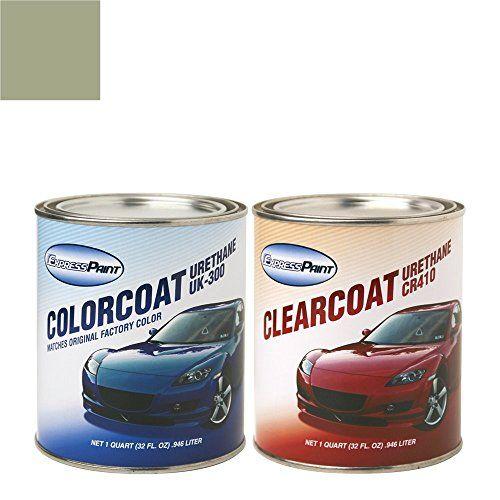 Expresspaint Quart Chevrolet S10 Automotive Touchup Paint Pewter Metallic Clearcoat 11wa382e Color Clearcoat Package For Repair Honda Oil Paint Supplies