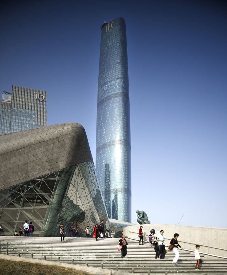 Luxury Hotel The Crowning Glory For Guangzhou International Finance Center - Picture gallery