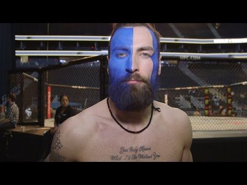 This Ufc Fighter S Face Paint Wins The Ufc 209 Weigh Ins Ufc Fighters Ufc Fighter