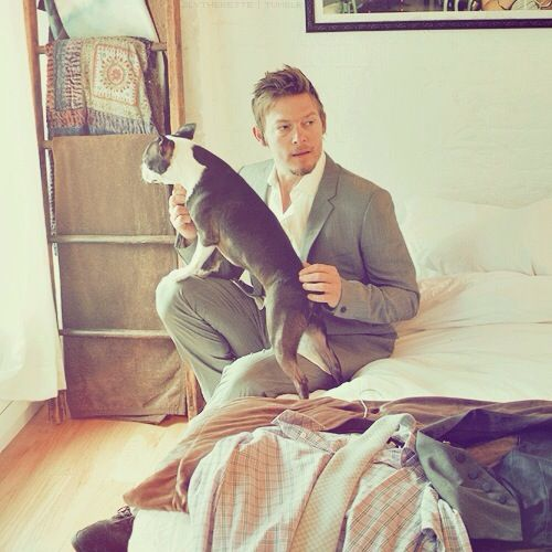 It's Norman Reedus in bed. Your argument is OH SO invalid.