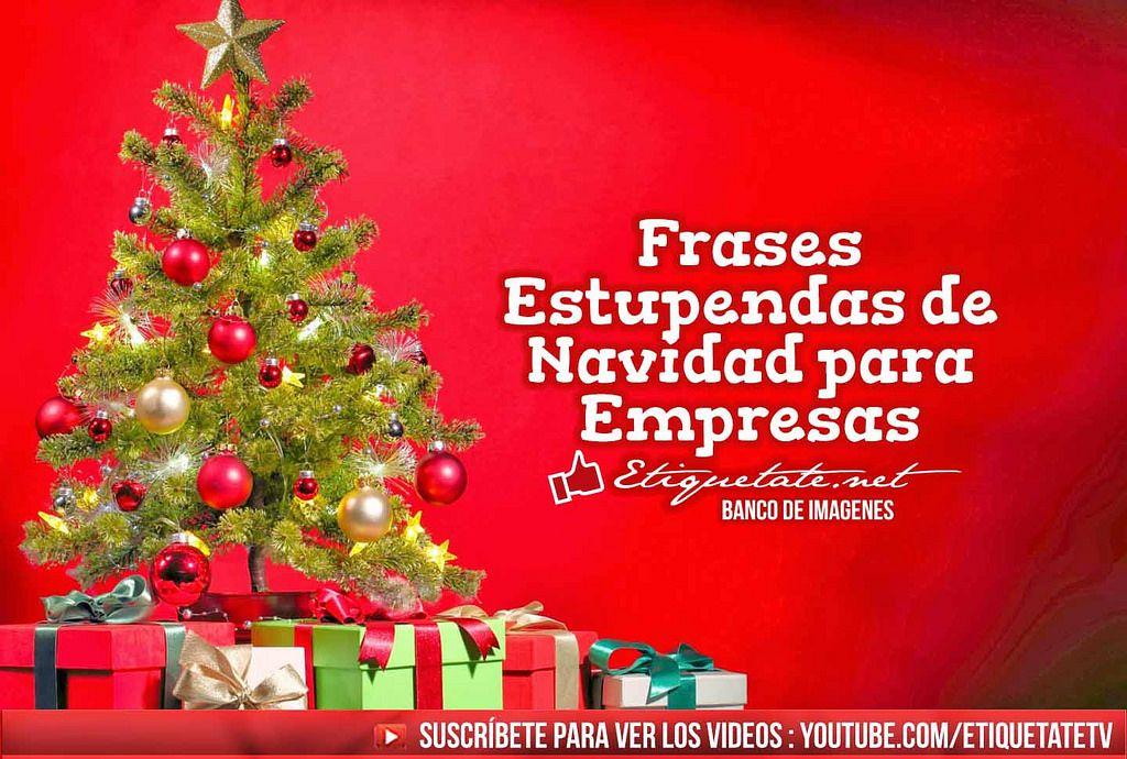 Frases Navidad Empresas Madebymcl