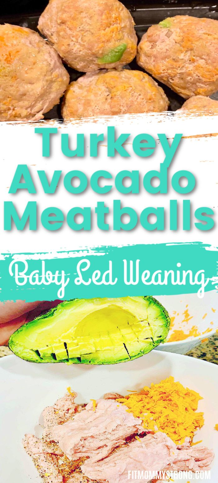 Baby Led Weaning Recipe: Easy Baked Avocado-Turkey ...