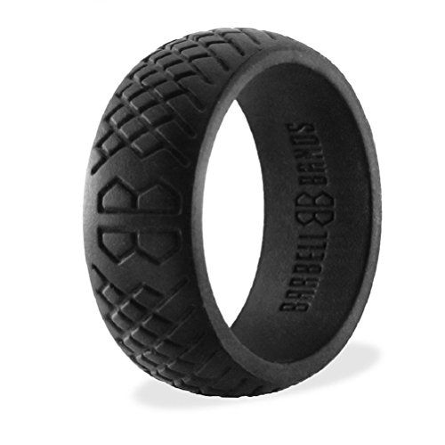 Silicone Wedding Bands Target: Pin By Barbell Bands On Men's Silicone Ring Collection