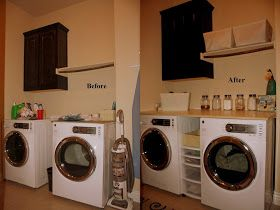 Crazy Beautiful Living: Laundry Room Makeover