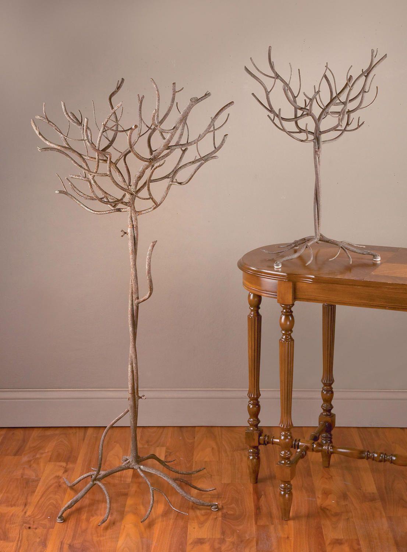 Natural Metal Tree (Display Trees) -placecard holder