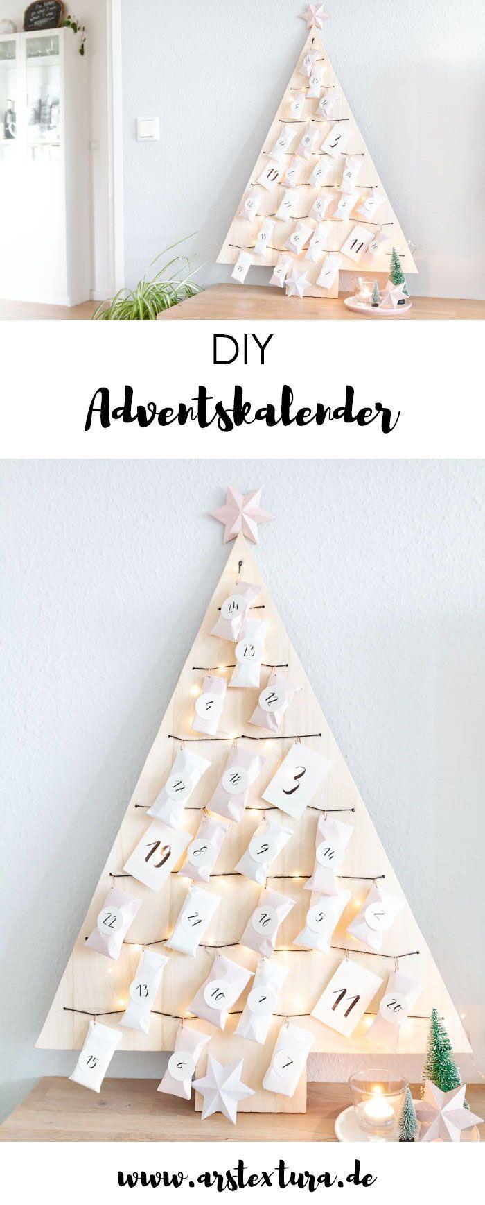 weihnachtsbaum adventskalender basteln weihnachten. Black Bedroom Furniture Sets. Home Design Ideas