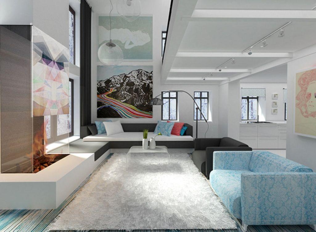 Sleek minimalist living room modern style pinterest