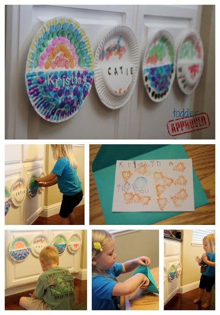 Paper Plate Mailboxes Toddler Approved Early Literacy Activities Toddler Approved Paper Plates Arts and craft mailboxes