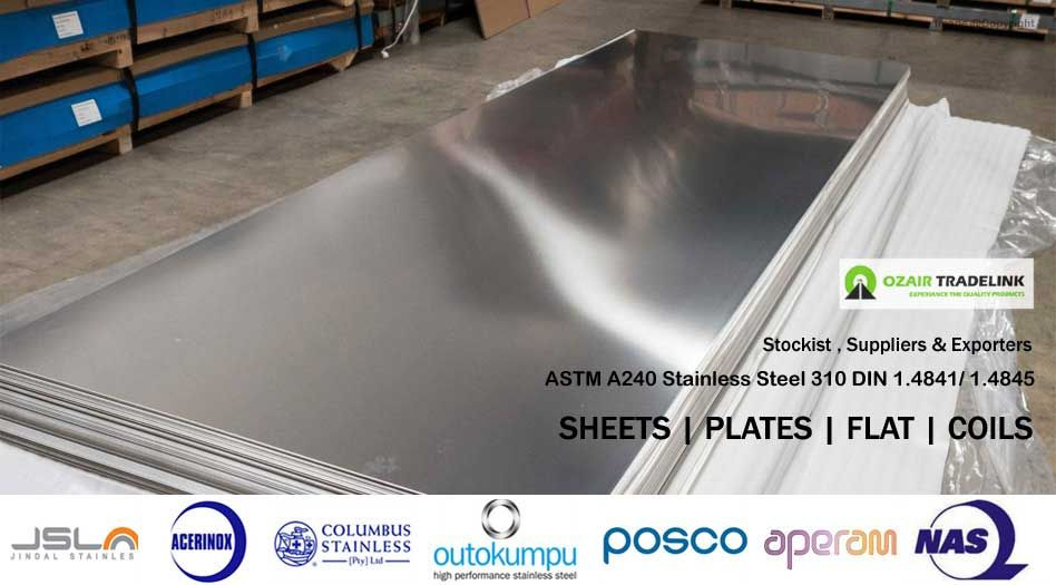 Stainless Steel 310 Sheets | OzairTradeLink | Stainless