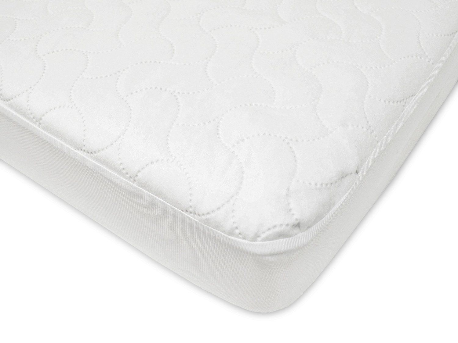 waterproof fitted crib and toddler protective mattress pad cover