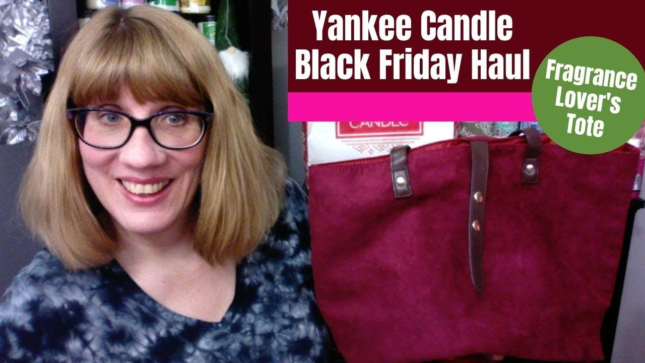 Yankee Candle Haul Black Friday Tote Yankee Candle Candles Fragrance Lovers