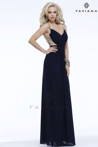 Faviana S7326 Beautiful #faviana #gown perfect for #prom or ...