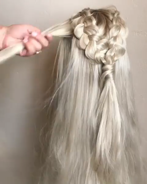 daenerys targaryen hair tutorial #hairtutorials