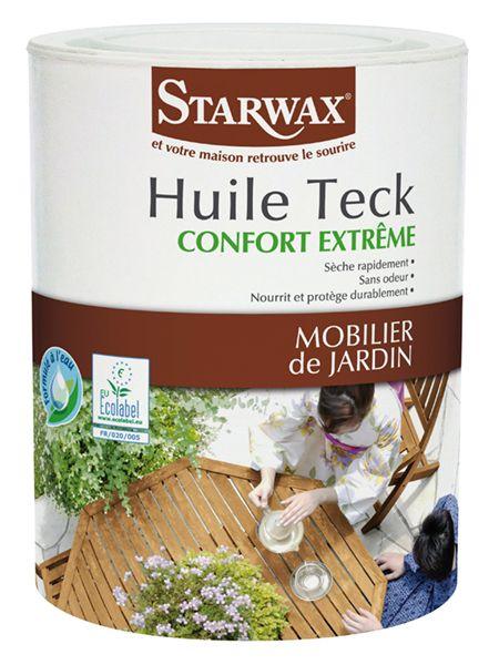 Starwax - Huile confort extrême pour l\'entretien du mobilier ...