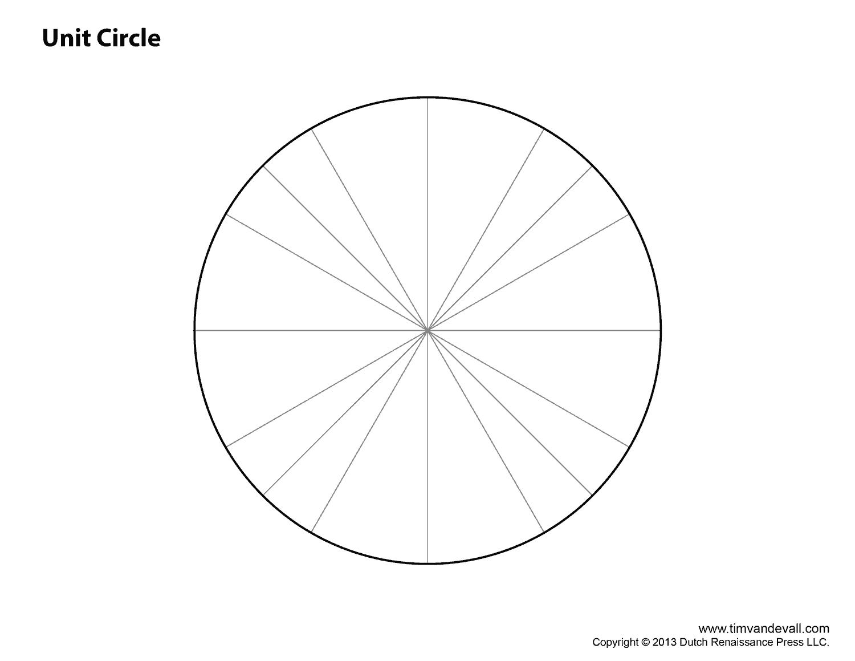 blank unit circle chart | Suli | Blank unit circle, Printables és Chart