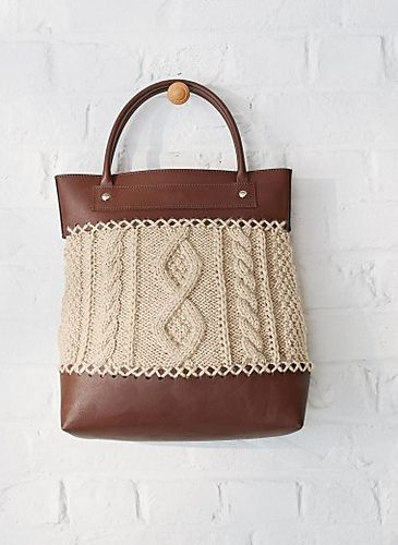 Ravelry 217 Cable Knit Bag Pattern By Bergre De France Projects