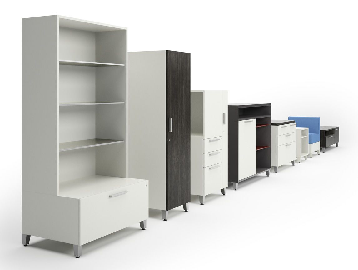 Allsteel involve storage office furniture storage