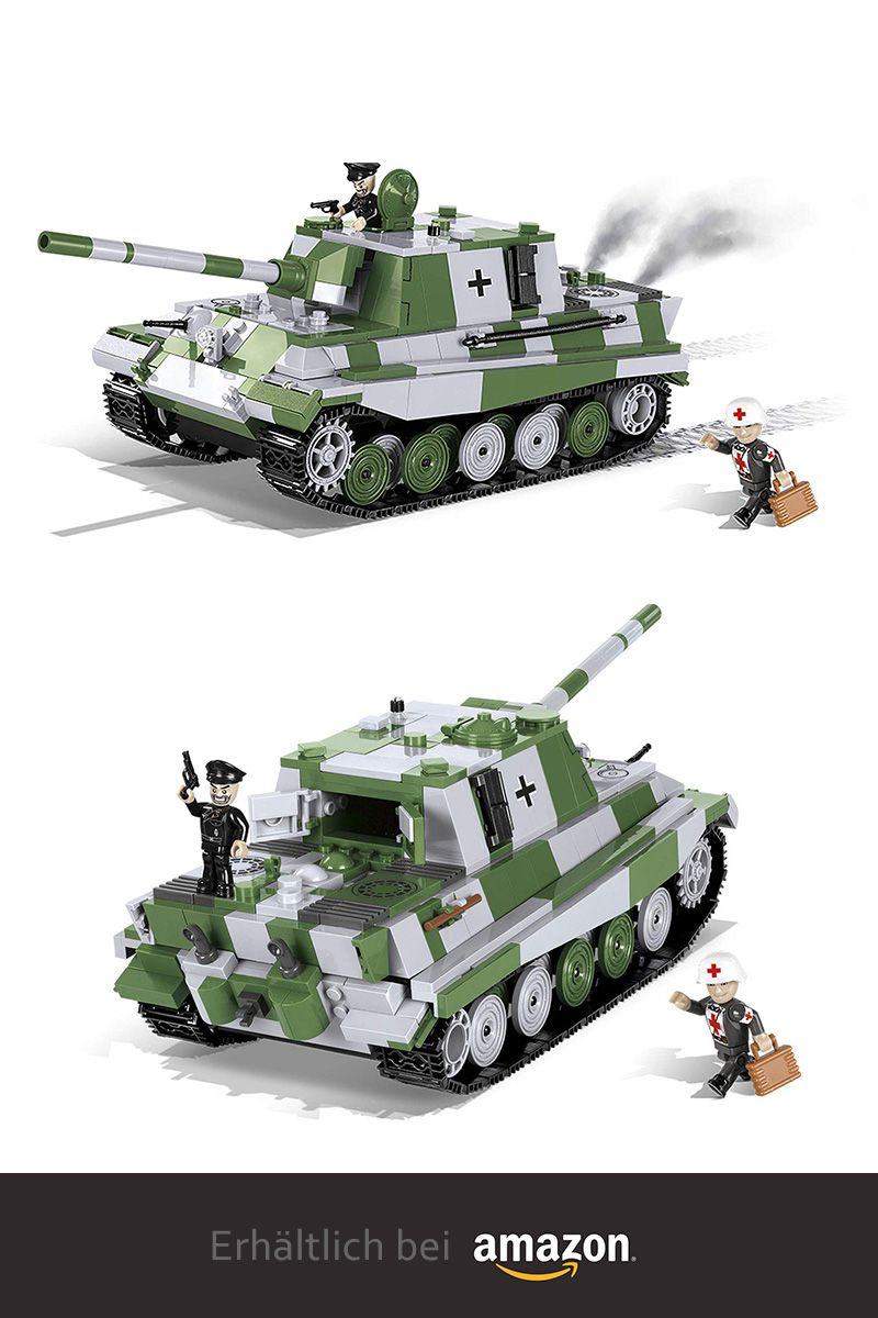 Jagdtiger WWII Konstruktions Spielzeug Cobi 2484 Sd.Kfz.186 Jagdpanzer VI