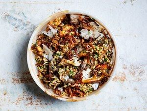 herby-barley-salad-with-butter-roasted-mushrooms