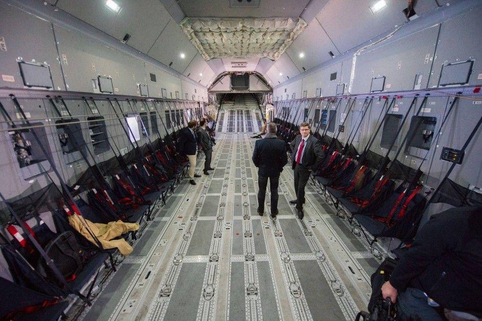 Innenraum Eines Airbus A400m Bundeswehr Luftwaffe Piloten