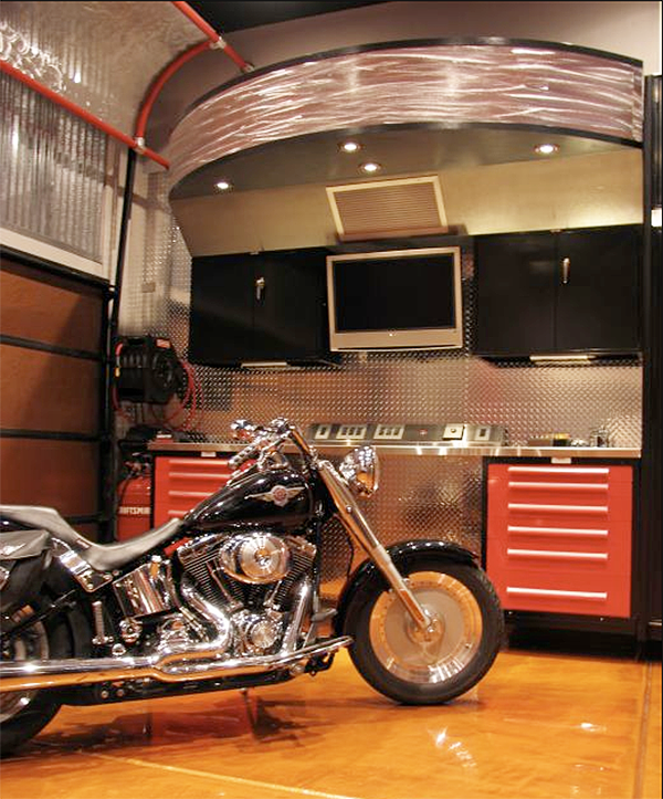 Cool Garage Ideas 16: A Cool Crib For Your Car: Custom Luxury Garages By