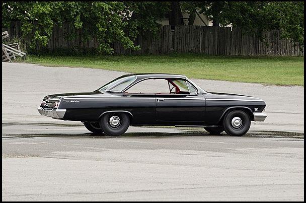 1962 Chevrolet Bel Air Lightweight Bubble Top 409 409 Hp 4 Speed