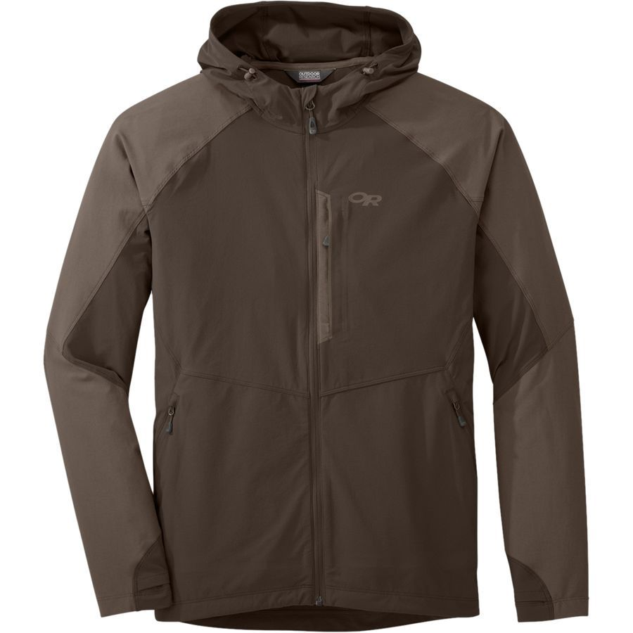 When Snow Recedes Above The Tree Line And Spring Flowers Bloom Replace Your Winter Jacket With The Outdoor Resear Hooded Jacket Men Mens Jackets Hooded Jacket [ 900 x 900 Pixel ]