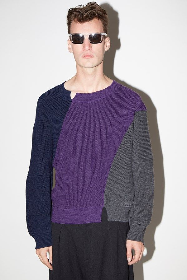 5489c377c J.W. ANDERSON KNIT JUMPER available at www.zambesistore.com