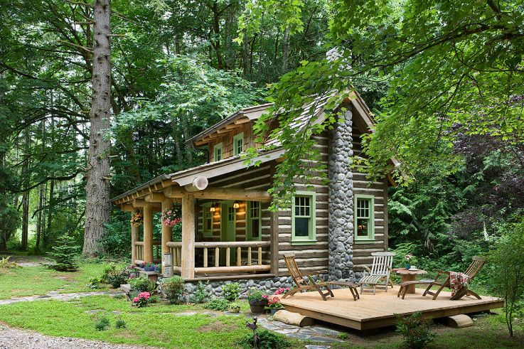 Small Cabin Home Make Mine Rustic Small Log Cabin Log