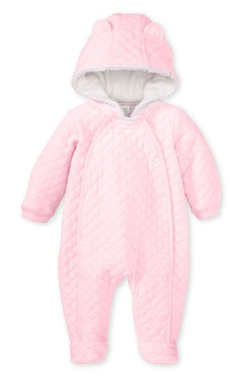 f0129ef0f Nordstrom Baby Quilted Velour Bunting (Infant) available at #Nordstrom
