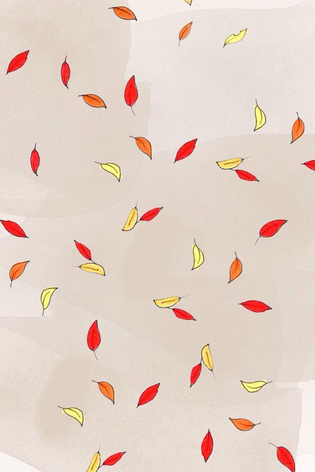 My Little Paris Fond D Ecran Feuille Automne Kanako Fall Wallpaper Wallpaper Pattern Wallpaper