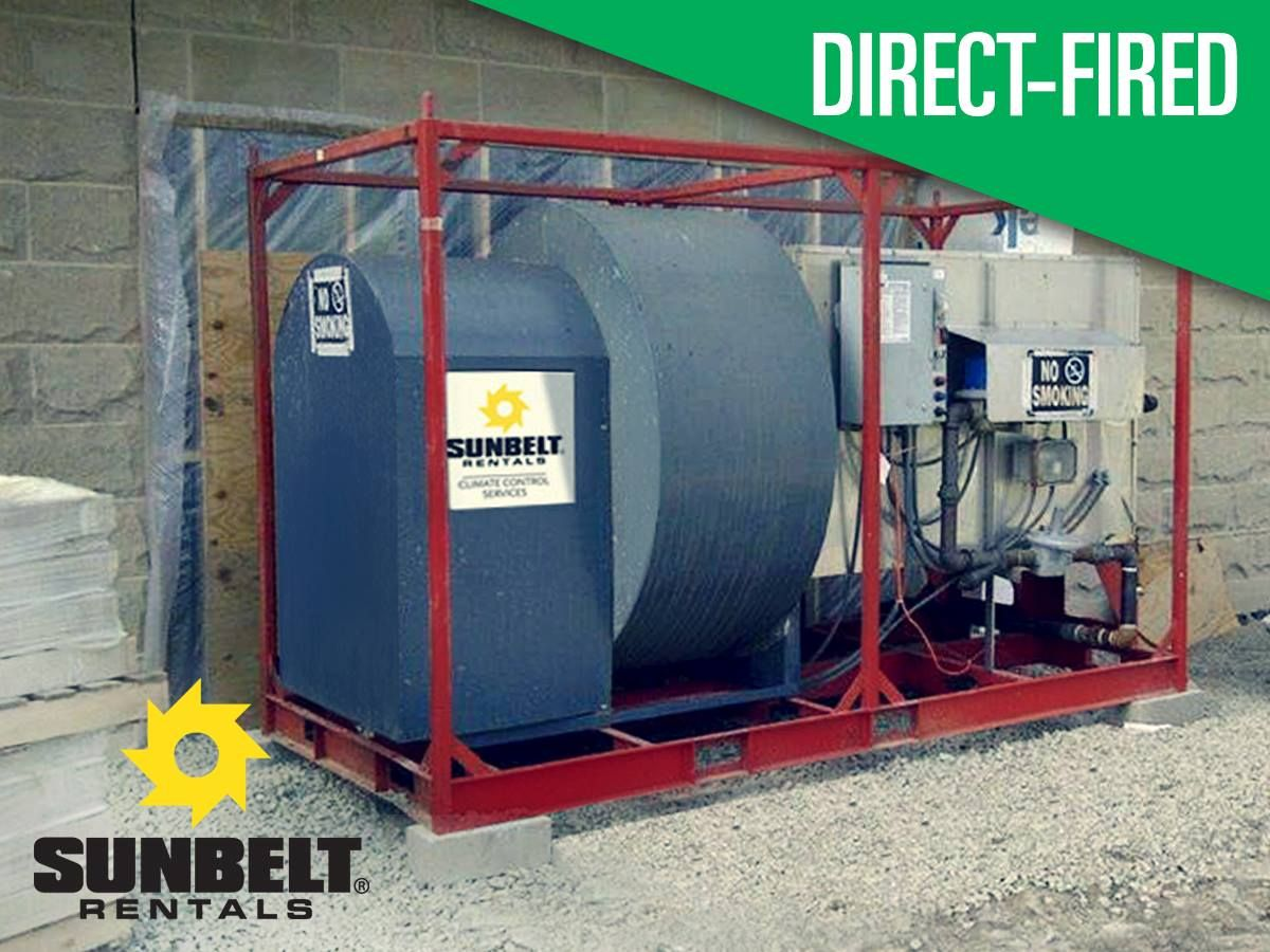 Directfired heaters utilize a direct flame to provide