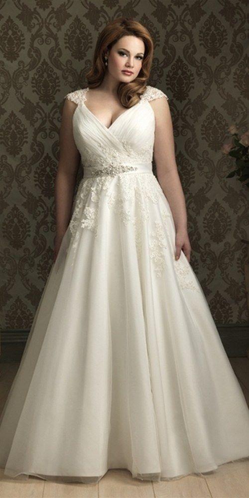 100 Gorgeous Plus-Size Wedding Dresses | i do. | Pinterest ...